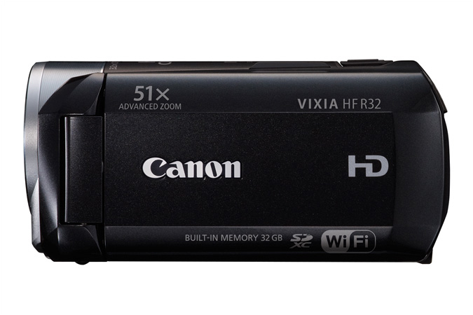 VIXIA HF R32 Flash Memory camcorder - side