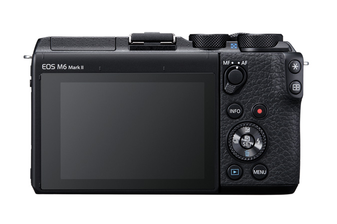 EOS M6 Mark II back