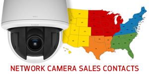 Network Camera Sales Contacts Map