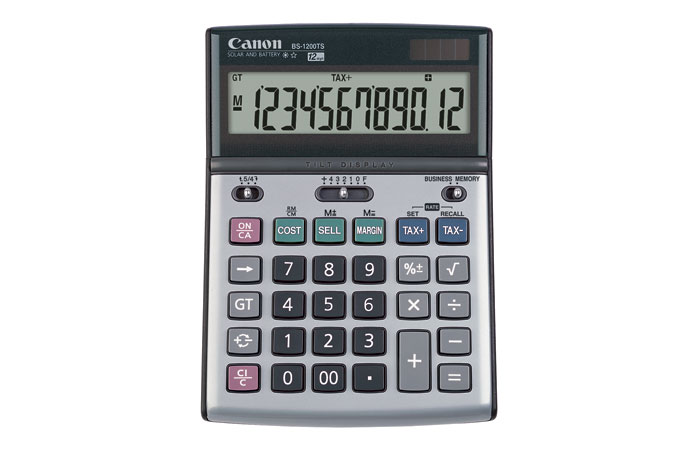BS-1200TS Basic Calculator