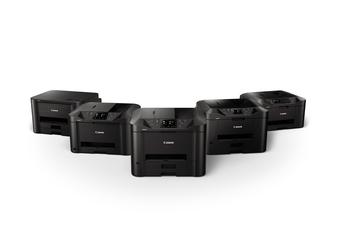 New Series of MAXIFY Small and Home Office Wireless Inkjet Printers