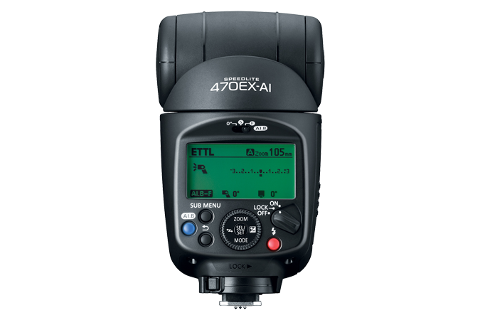 Speedlite 470EX AI (Back)